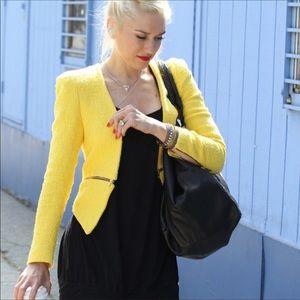 Zara yellow blazer.